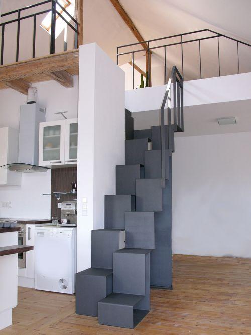 Treppenhaus modernisieren  Modernisierung Heiligenhaus - Architekturbüro Anke Indra -